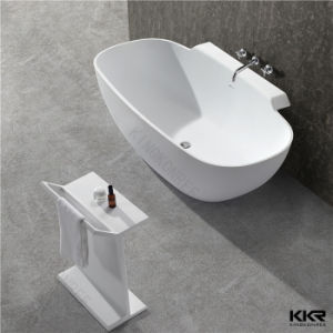 Kingkonree Resin Stone Bath Hot Bath Solid Surface Large Bathtub pictures & photos
