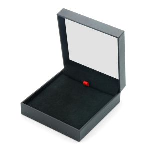 2015 New Fancy Paper Hot Sale Plastic Box Plastic Booklet Box with Spring Hinge for Jewelry and Gift