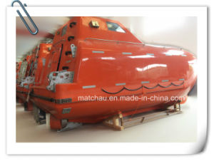 China Suppliers Supply Free Fall Lifeboat with Davit pictures & photos