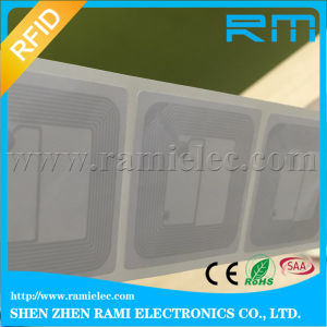 High Quality 13.56MHz Hf RFID Sticker Tag with F08 Chip 50X50mm
