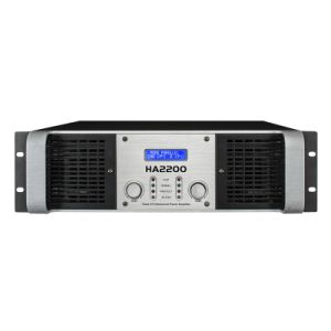 Ha Series Power Amplifier 3u with LCD Display pictures & photos