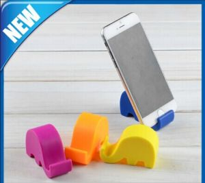 Lovely Elephantl Silicon Mobile Phone Holder Stand for iPhone pictures & photos