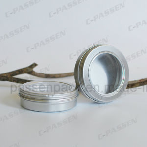 100g Aluminum Tea Tin Can with Pet Window Lid pictures & photos