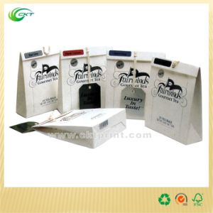 Custom Paper Shopping Bag with Gloosy Lamination (CKT-PB-353)