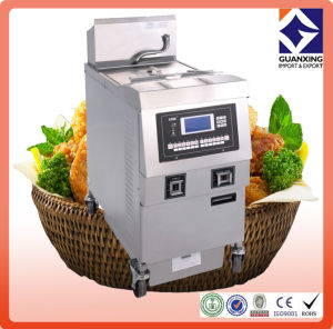 Commercial Kfc Electric Open Chicken Fryer/High Quality Open Chicken Fryer/ Electric Open Fryer pictures & photos