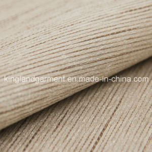 Polyester Inherently Fire Retardant Striped Jacquard Woven Fireproof Curtain Fabric pictures & photos
