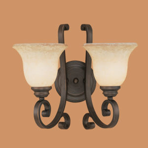 Antique Wall Lamp with Ts Glass (1222RBZ)