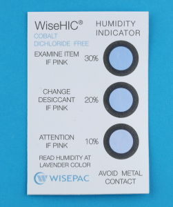 10%-30% Cobalt Free (HIC) Humidity Indicator Card (WiseHIC) pictures & photos