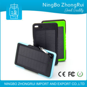 New Design 8000mAh Solar Power Bank, 8000mAh Power Bank pictures & photos