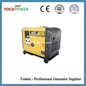 Electric Start 5kw Air Cooling Silent Diesel Generator pictures & photos