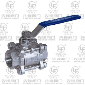 3PC Ball Valve Socket-Welded (PQ6C1F) pictures & photos