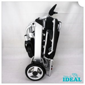 Tiny 4 Foldable Electric Wheelchair pictures & photos