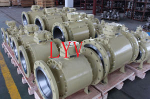 Floating Ball Valve with Gear Operation pictures & photos