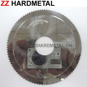 Cemented Carbide Fiber Cement Board Sharp Slitting Cutter pictures & photos