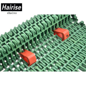 7960 Flush Grid Plastic Mesh Sugar Industry Conveyor Belt pictures & photos