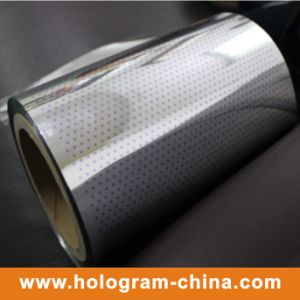 Hologram Two Color Tamper Evident Aluminum Foil pictures & photos