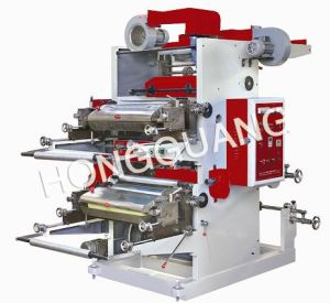Two Color Letterpress Offset Printing Machine pictures & photos