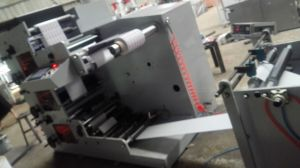 High Quality Flexo Printing Machine 420mm with 3 Color pictures & photos