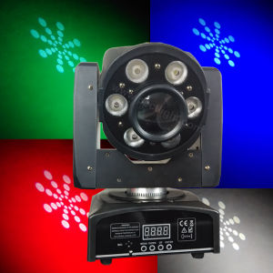 1X30W Spot 6X8w Wash LED RGBW 4in1 Moving Head Light pictures & photos