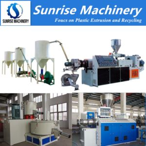 Soft Rigid PVC Powder Pelletizing Machine pictures & photos