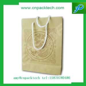 Luxury Branded Cardboard Bag with Rope Handle pictures & photos