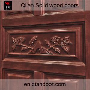 Oak Solid Wood Security Door, Interior Room Wood Door pictures & photos
