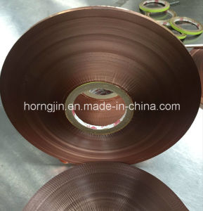 Hot Sale Polyester Insulation Cu/Pet Shielding Strip Tapes Copper Foil for Coaxial Cable pictures & photos