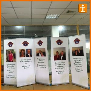 80X200cm Aluminum Roll up Banner for Display (TJ-XZ-016) pictures & photos