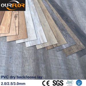 Virgin Material PVC Vinyl Flooring Tiles / Cheap PVC Vinyl Flooring / PVC Dry Back/ Loose Lay pictures & photos