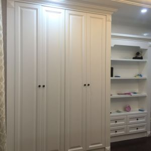 PVC Sliding Doors for Closets Wardrobes pictures & photos