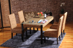 Home Dining Room Furniture Table Combination Rattan Furniture