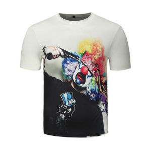 Customize Personal Design 3D Digital Printing Men Tees pictures & photos