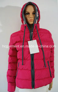 Sports Wear Down Outdoor Clothes Winter Hoodie Women′s Jacket pictures & photos