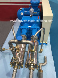 Cyyp 75 Uninterrupted Service Large Flow and High Pressure LNG Liquid Oxygen Nitrogen Argon Multiseriate Piston Pump pictures & photos