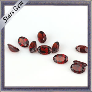 Mozambique Origin Vivid Red Natural Garnet Precious Stone pictures & photos