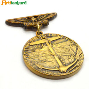 Customized Full 3D Metal Medal Plating Gold pictures & photos