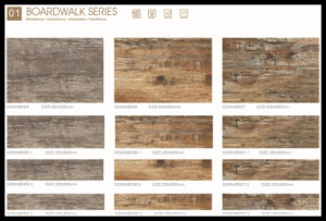 Environmental Wooden Tile 600X900mm Rustic Tile for Floor