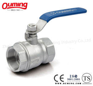 2PC 1000wog Dn25 Ball Valve with Lock pictures & photos
