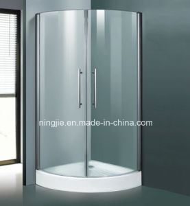 Simple Shower Room with Tray Shower Enclosure (Nj-021G) pictures & photos