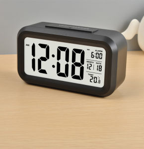 LCD Digital Calendar Clock with Backlight (LC830D) pictures & photos