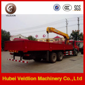 Mobile FAW 15 Tons Truck Mounted Crane pictures & photos