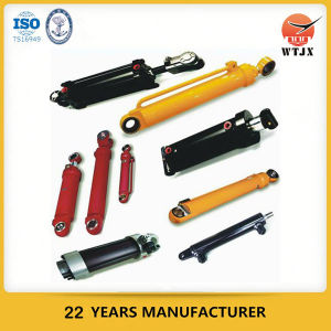Welded Double Acting Hydraulic Cylinder for Agricultural Vehicle pictures & photos