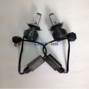 New Design Dual Beam H/L H4 LED Headlight pictures & photos