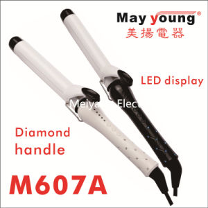 Newest Diamond Handle Professional Beautiful Hair Curling Iron pictures & photos