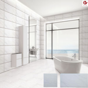 Simple Inkjet White Marble Design Sell Well Wall Tile