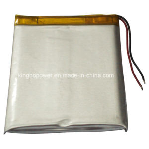 3.7V Rechargeable Lithium Polymer Battery for Electronic