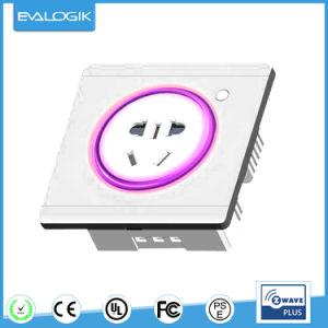 Z-Wave Wireless Smart Plug in Socket (ZW691) pictures & photos