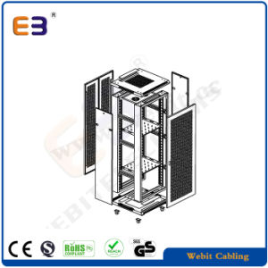 18u to 42u Network Cabinet with Door Perforated pictures & photos