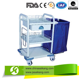 Skr-LC562 High Quality Hospital Medical Laundry Collecting Trolley/Cart pictures & photos