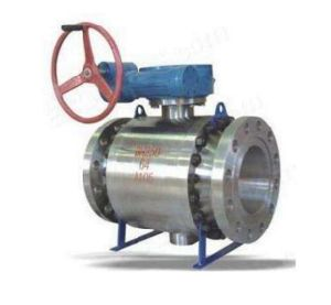Q347y High Pressure Forged Steel Sulfur Resistant Sphereical Ball Valve pictures & photos